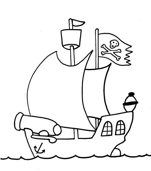 historic ship coloring pages - photo#36
