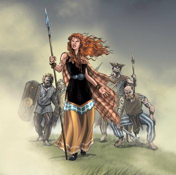 Boudica Warrior Queen of the Iceni