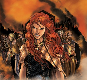 Boudicca the Warrior Queen - a fun poem for kids
