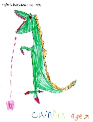 T Rex by Camrun Hogg, 7