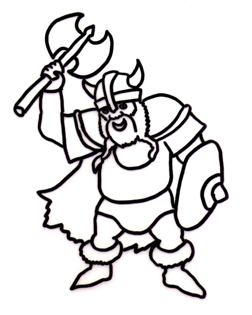 Coloring Pages Viking