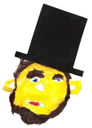Abraham Lincoln, by Ellie Baker (5)